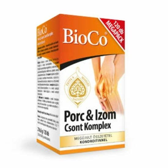 BIOCO PORC-IZOM CSONT KOMPLEX TABL. 120X