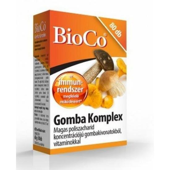 BIOCO GOMBA KOMPLEX TABL. 80X