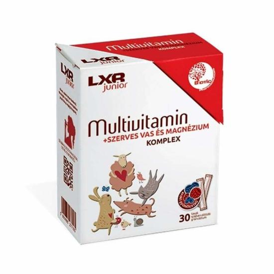 LXR JUNIOR MULTIVITAMIN KOMPLEX GRAN.  30X