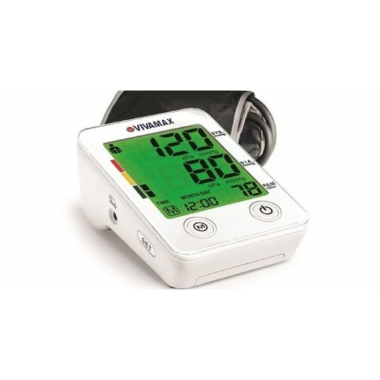 Vivamax Színes kijelzős felkaros vérnyomásmérő