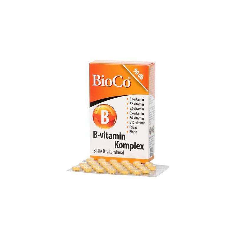 BIOCO B VITAMIN KOMPLEX TABLETTA 90X