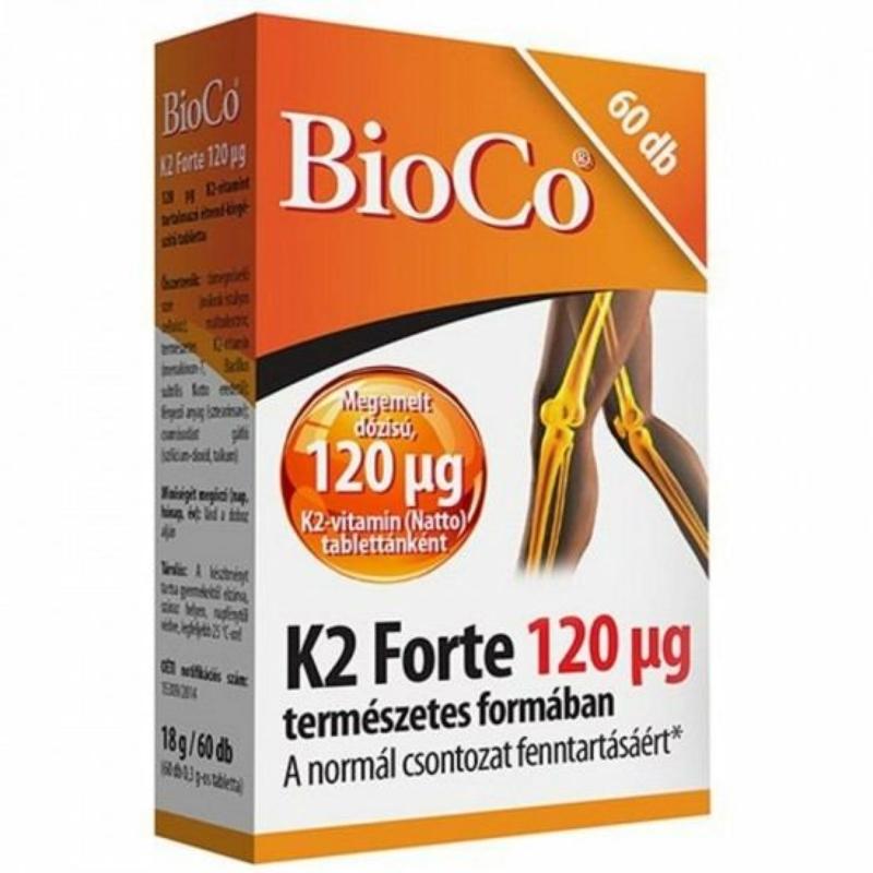 BIOCO K2-VITAMIN FORTE TABL. 60X