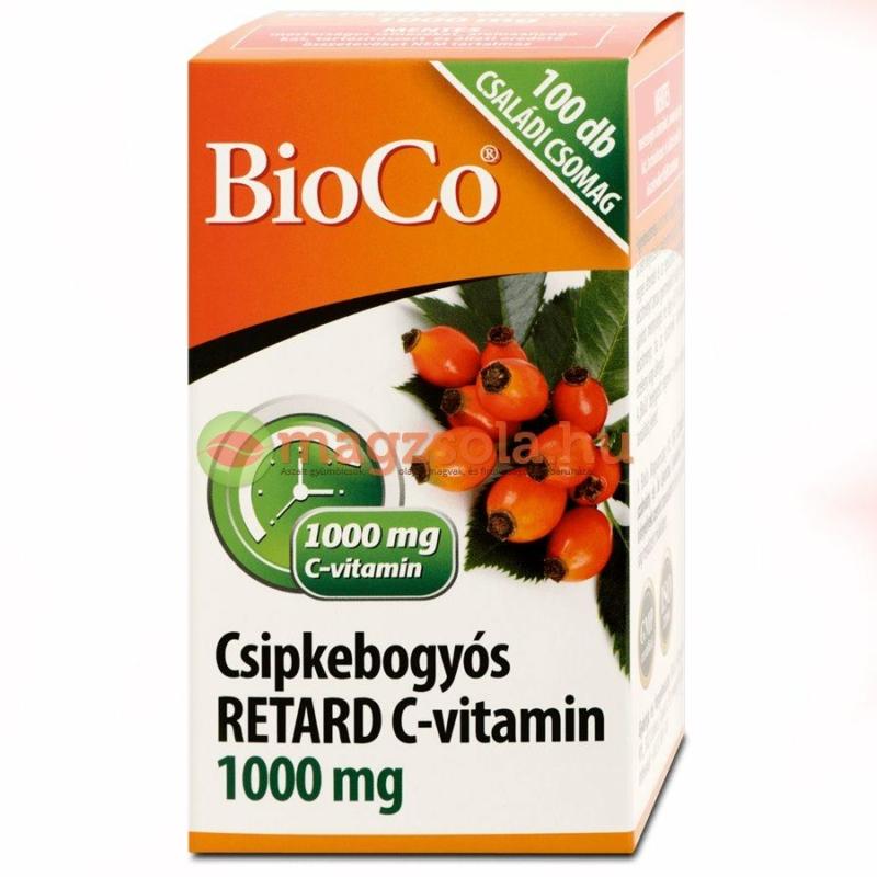 BIOCO CSIPKEBOGYO C-VIT. 1000MG RETARD TABL 100X