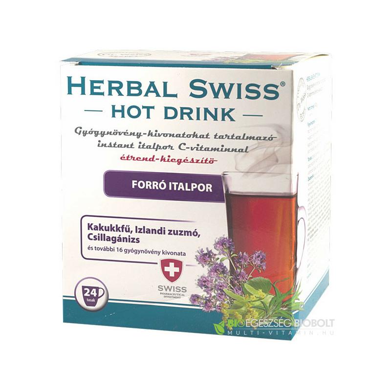 Herbal swiss hot drink 24X