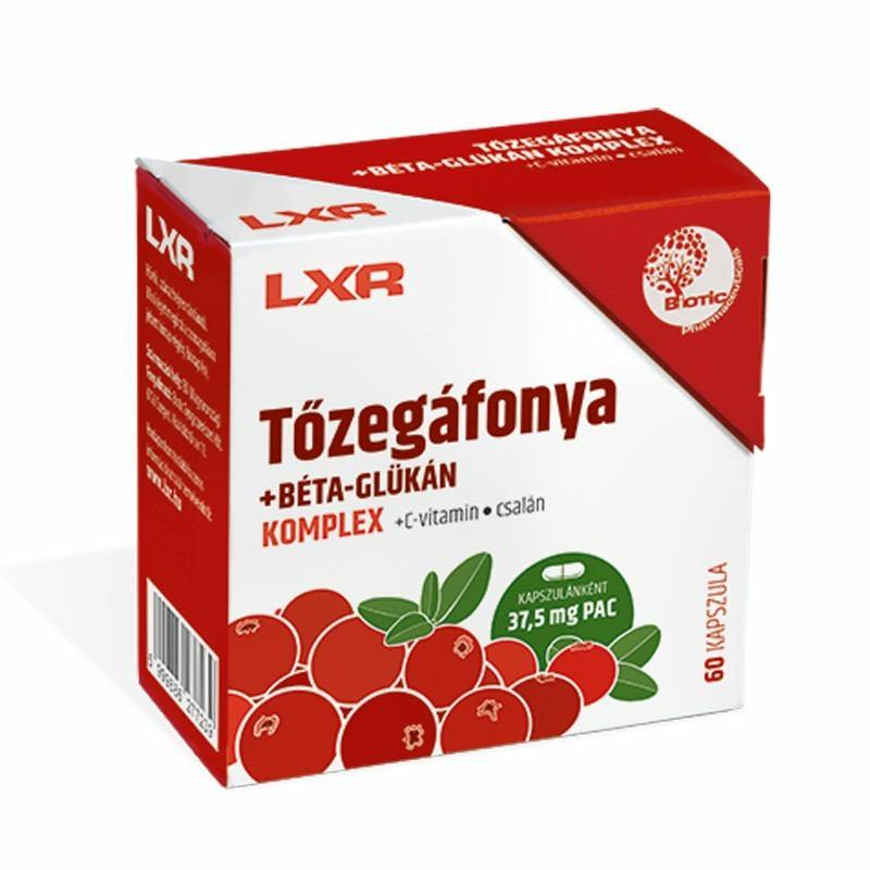 LXR TOZEGAFONYA+BETA GLUK.KOMPL.KAPSZ. 60X