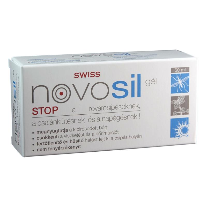 Swiss novosil gél rovarcsípésre 50ML