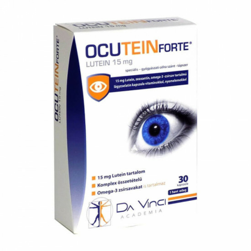 Ocutein lutein forte kapszula 30X